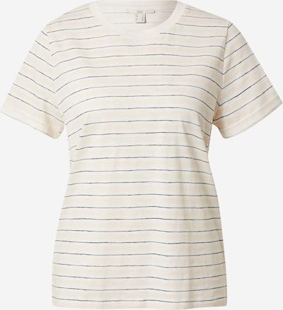 EDC BY ESPRIT T-Krekls 'Core', krāsa - bēšs / melns / gandrīz balts, Preces skats
