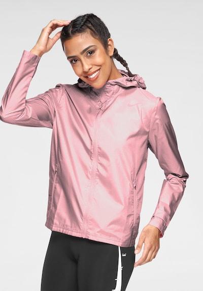 NIKE Laufjacke in rosé: Frontalansicht