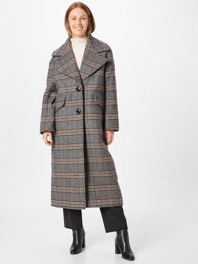 Libertine-Libertine Mantel 'Version' in creme / braun / grau / schwarz, Modelansicht