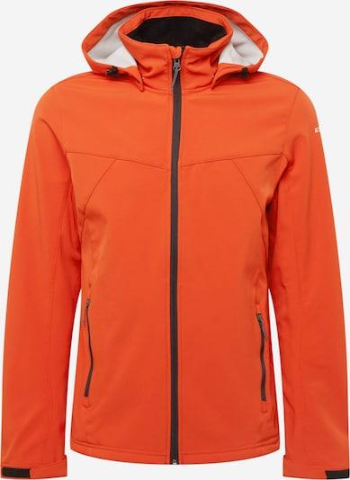 ICEPEAK Μπουφάν πεζοπορίας 'BRIMFIELD' σε πορτοκαλοκόκκινο / μαύρο, Άποψη προϊόντος