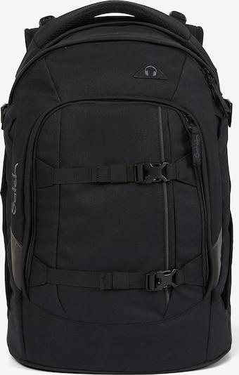 Satch Rucksack in schwarz, Produktansicht