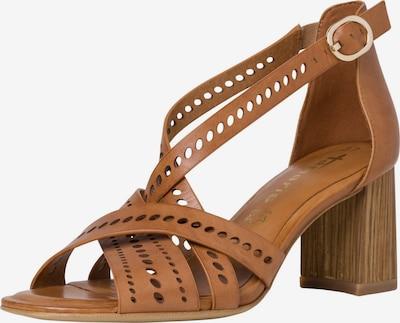 TAMARIS Sandalias con hebilla en marrón, Vista del producto