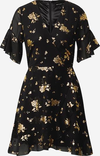 Mela London Šaty - zlatá / černá, Produkt