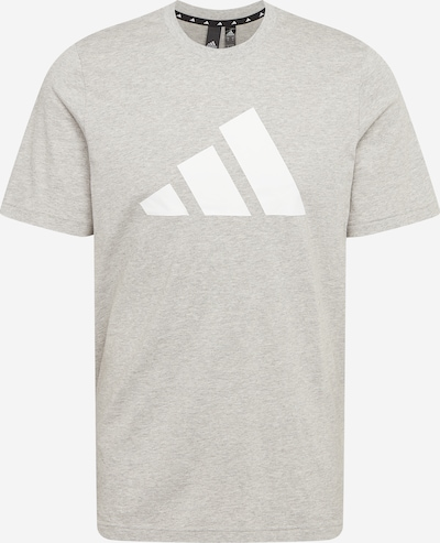 ADIDAS PERFORMANCE Functional shirt in Grey / White, Item view