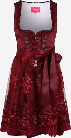 Krüger Madl Dirndl in bordeaux, Item view