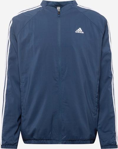 adidas Golf Sportjacke en bleu marine / blanc, Vue avec produit