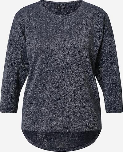 VERO MODA T-shirt 'Fern' en bleu foncé / argent, Vue avec produit