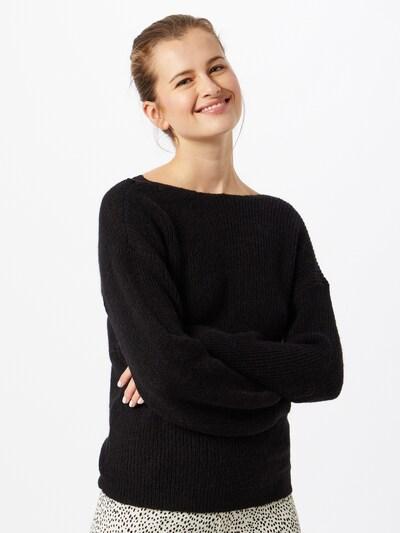 VILA Trui 'Good' in de kleur Zwart, Modelweergave