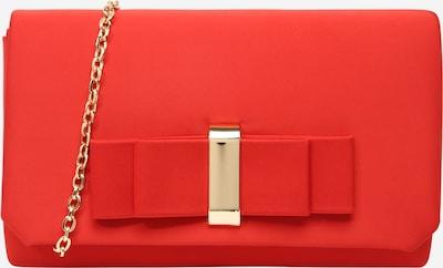 mascara Clutch 'BELL BOW II' in de kleur Goud / Rood, Productweergave