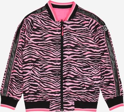 Cars Jeans Tussenjas 'LUCCA' in de kleur Fuchsia / Zwart, Productweergave
