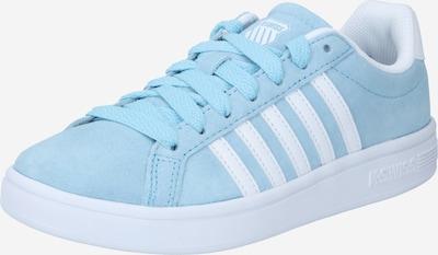 K-SWISS Sneaker 'Court Tiebreak' in hellblau / weiß, Produktansicht