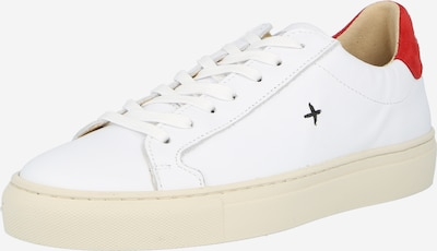 New Lab Sneaker in rot / weiß, Produktansicht