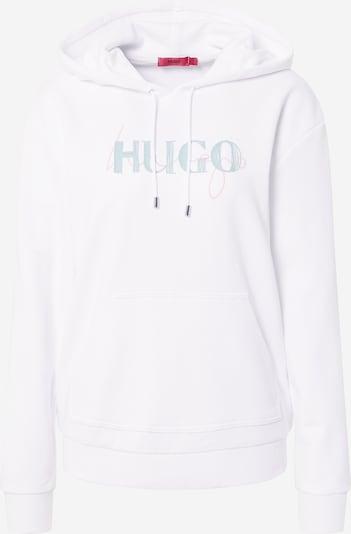 HUGO Sweatshirt 'Dasara' in Opal / White, Item view
