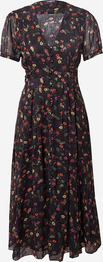 The Kooples Kleid in gelb / hellgrün / rot / schwarz, Produktansicht