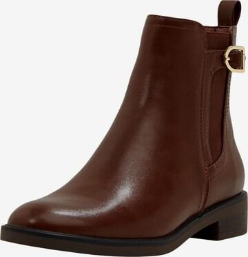 ESPRIT Chelsea Boots 'Audrey' in Braun