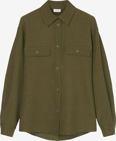 Marc O'Polo DENIM Bluse in grün, Produktansicht