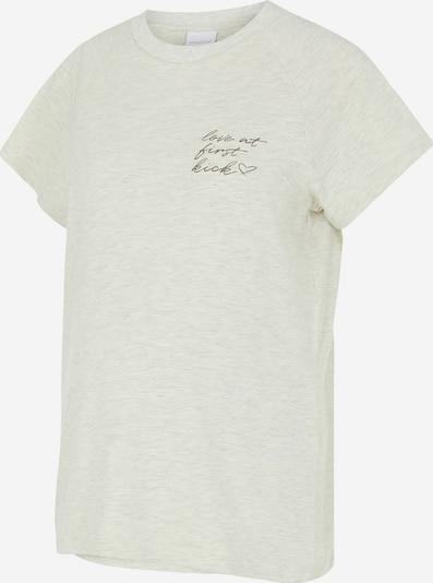 MAMALICIOUS Shirt in gelbmeliert, Produktansicht