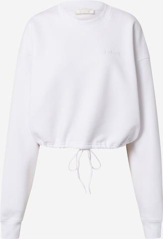 LeGer by Lena Gercke Collegepaita 'Rosa' värissä valkoinen