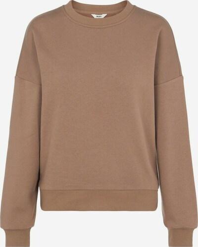OBJECT Sweatshirt in dunkelbeige, Produktansicht