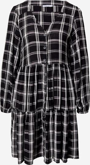 Hailys Robe-chemise 'Mia' en noir / blanc, Vue avec produit