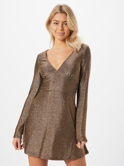 Tally Weijl Koktejlové šaty - zlatá, Model/ka