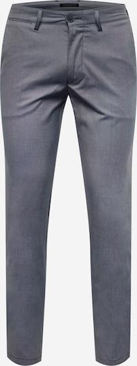 DRYKORN Pantalon chino 'MAD' en bleu nuit / blanc, Vue avec produit