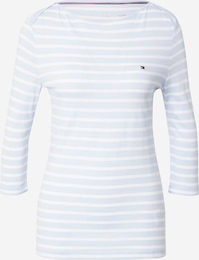 TOMMY HILFIGER Shirt in hellblau / weiß, Produktansicht