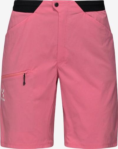 Haglöfs Outdoorbroek 'L.I.M Fuse' in de kleur Pink / Zwart / Wit, Productweergave