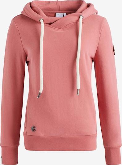 khujo Sweatshirt 'Tesia' in braun / pink / weiß, Produktansicht