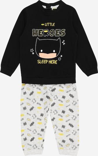 OVS Pyžamo 'BATMAN' - žltá / svetlosivá / čierna, Produkt