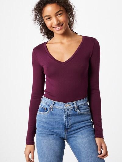 Marškinėliai iš GAP , spalva - tamsiai violetinė: Vaizdas iš priekio
