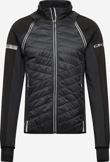 CMP Outdoorjas in de kleur Donkergeel / Zwart / Wit, Productweergave