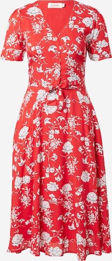 Rochie tip bluză 'AVRIL' Louche pe roșu / negru / alb, Vizualizare produs
