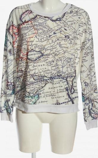 SELECTED FEMME Sweatshirt in L in creme / blau / weiß, Produktansicht