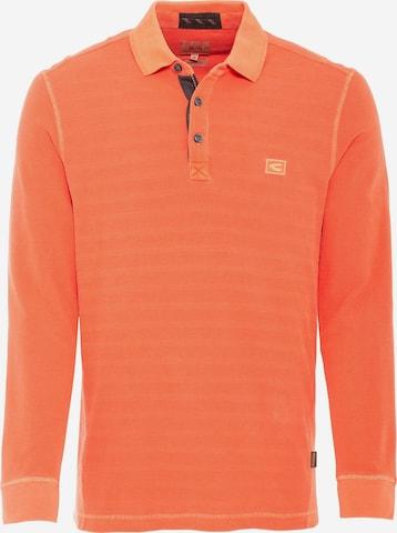 CAMEL ACTIVE Poloshirt in Orange