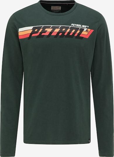 Petrol Industries Shirt in de kleur Groen, Productweergave