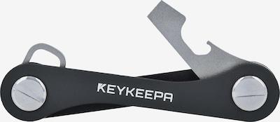 Keykeepa Schlüsselmanager 'Classic' in silbergrau / schwarz, Produktansicht