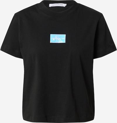 Calvin Klein Jeans T-shirt en mélange de couleurs / noir, Vue avec produit