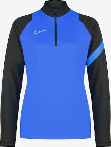 NIKE Athletic Sweatshirt in Blue