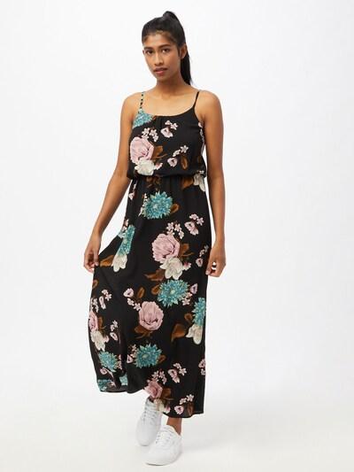 ONLY Robe d'été 'Winner' en mélange de couleurs / noir, Vue avec modèle
