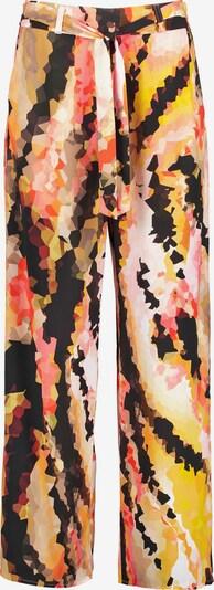 TAIFUN Hose in gelb / orange / rosa / schwarz, Produktansicht
