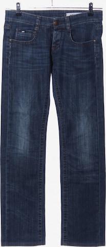 GAS Straight-Leg Jeans in 27-28 in Blau