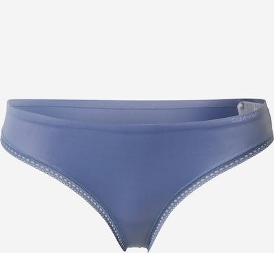 Calvin Klein Underwear String in de kleur Lila, Productweergave