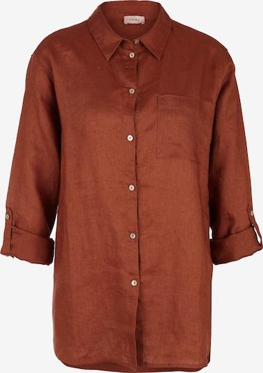 TRIANGLE Bluse in rostbraun, Produktansicht