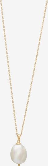 Nordahl Jewellery Chaîne 'Baroque52' en or / blanc perle, Vue avec produit