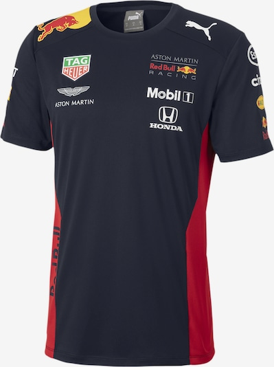 PUMA Functioneel shirt 'Red Bull Racing Team' in de kleur Navy / Rood, Productweergave