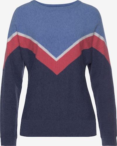 TAMARIS Sweater in Blue / Night blue / Red / White, Item view