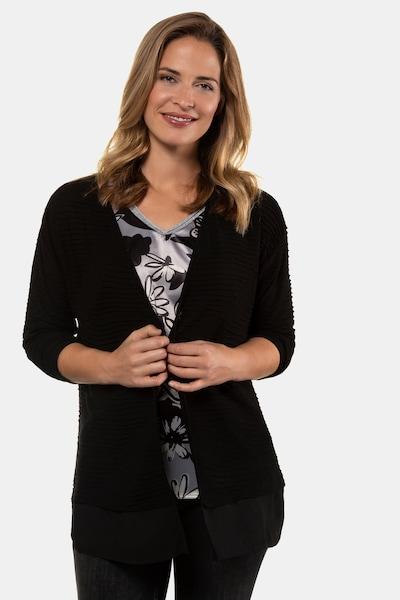 Gina Laura Jacke in schwarz, Modelansicht