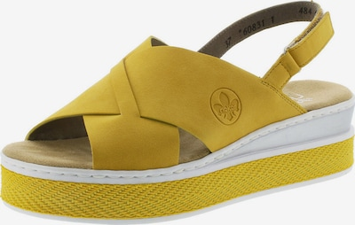 RIEKER Sandály - hořčicová, Produkt