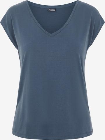 T-shirt 'Kamala' PIECES en bleu
